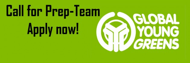 Call for prep-team:  4th congress of the Global Young Greens