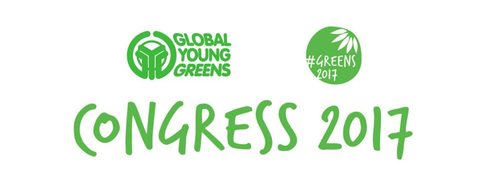 CALL FOR DELEGATES: 4th Global Young Greens Congress