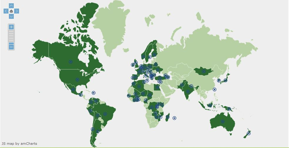 https://globalyounggreens.org/member-organisations-world-map/