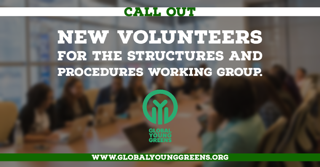 The GYG Structures and Procedures Working Group (SPWG) is looking for new members!